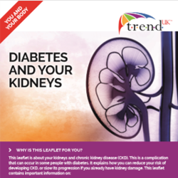 Image for TREND UK  Diabetes and Your Kidneys